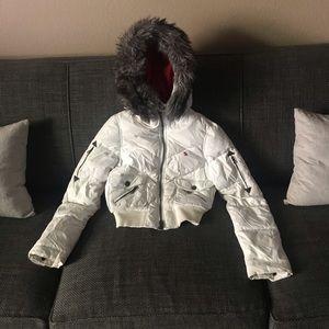 Abercrombie puffy jacket